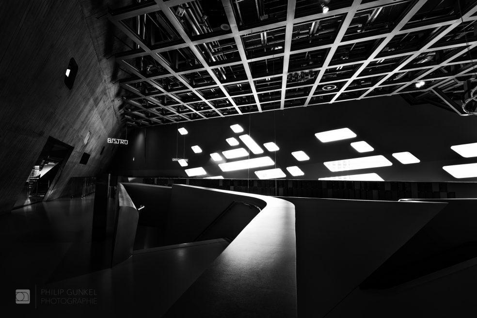 Phaeno Interior